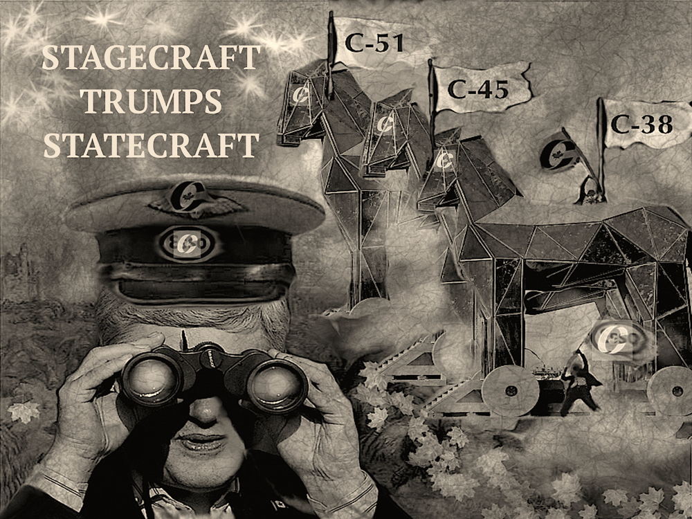 Stagecraft trumps Statecraft