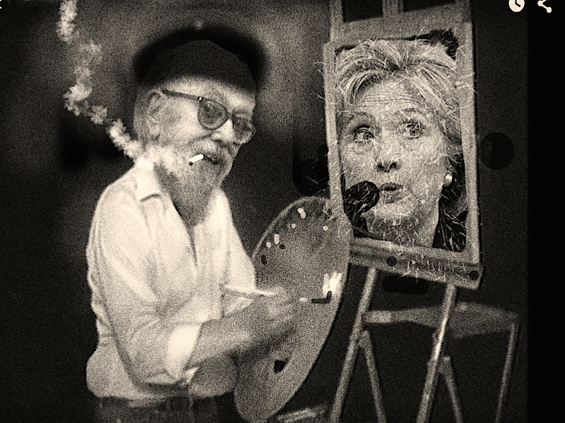 court painter & hillary