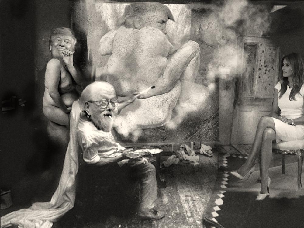 Court Painter & Emperor Donald