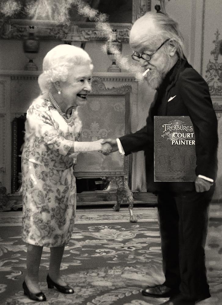 Court Painter & Meets the Queen