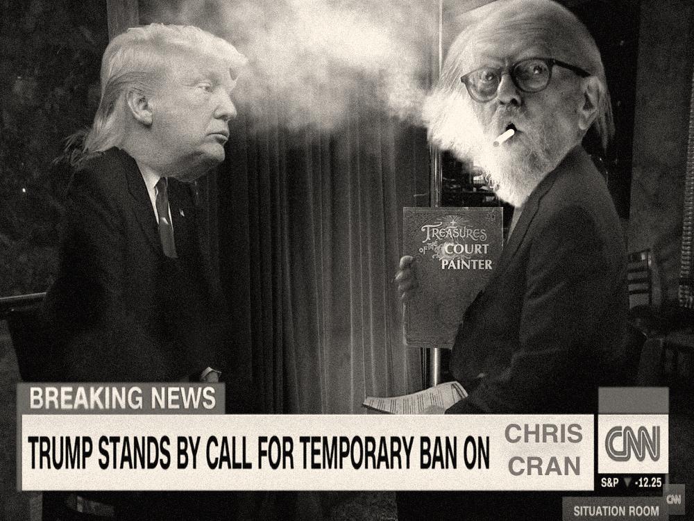 Court Painter & The Donald's Ban copy