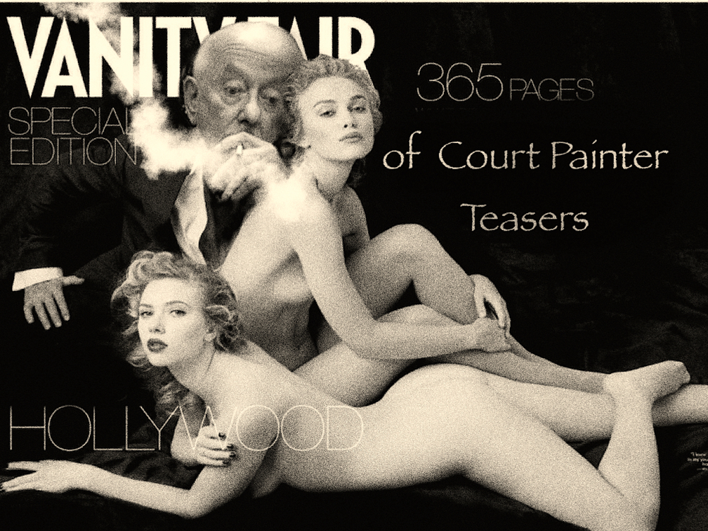 Court Painter & Vanity fair cover