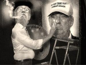 court painter & the Donald