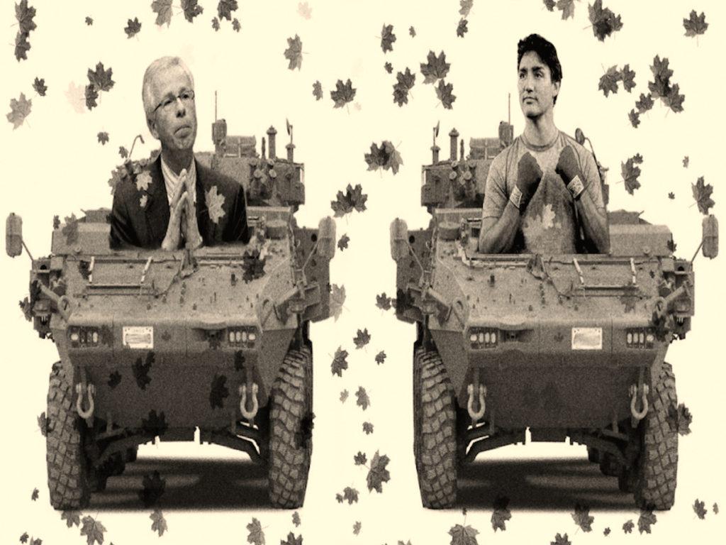 leaves & dion & Trudeau Lavs