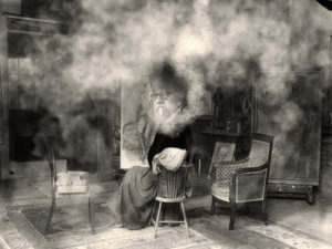 Court Painter & Seated in studio copy