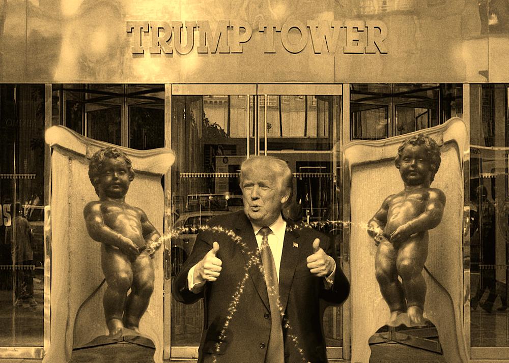 Donald & Tower