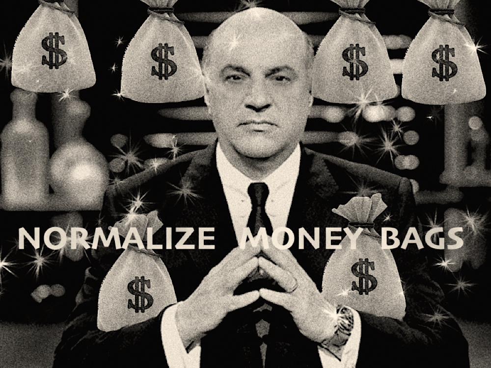 OLeary money bags normalization